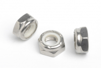 Stainless Steel Nylon Insert Nuts Thin Type