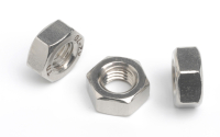 Stainless Steel Fine Thread Hexagon Full Nuts
