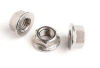 Stainless Steel Non Serrated Flanged Nuts