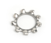 Stainless Steel External Tooth Washers DIN 6797