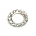 Stainless Steel External Tooth Washers DIN 6798