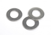 Stainless Steel ISO 7090 Chamfered Flat Washers 200HV