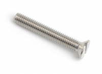 Stainless Steel Slot Countersunk Machine Screws