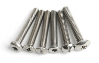 Stainless Steel Knurled Thumb Screws