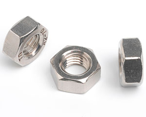 M2.6 HEXAGON FULL NUT DIN 934 A2 ST/ST