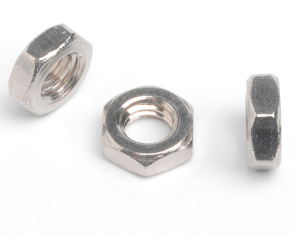 Stainless Steel USA Small Pattern Hexagon Nuts