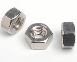 3/8-24 HEAVY HEXAGON FULL NUT ANSI B18.2.2 A2 ST/ST