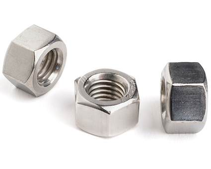 Stainless Steel Heavy Hexagon Full Nuts UNI 5587