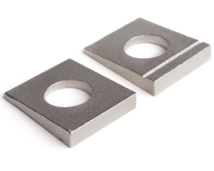 Stainless Steel Square Taper Washers for U-Section
