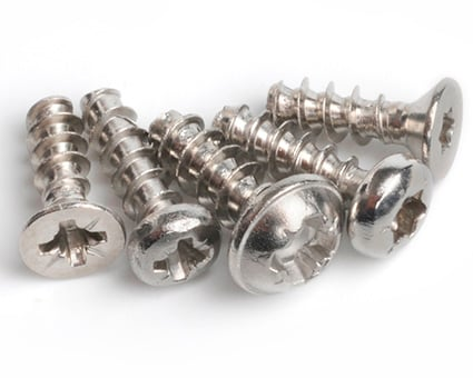 Stainless Steel Screws for Plastics