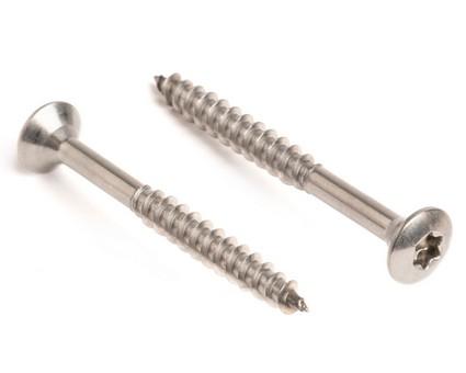 Stainless Steel TX Raised Csk Chipboard Screws