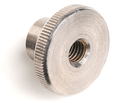 Stainless Steel Knurled Thumb Nut High Type