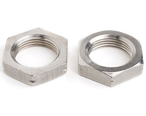 "G 1/2"" PIPE NUT DIN 431 TYPE B (34mm A/F) A2 ST/ST"
